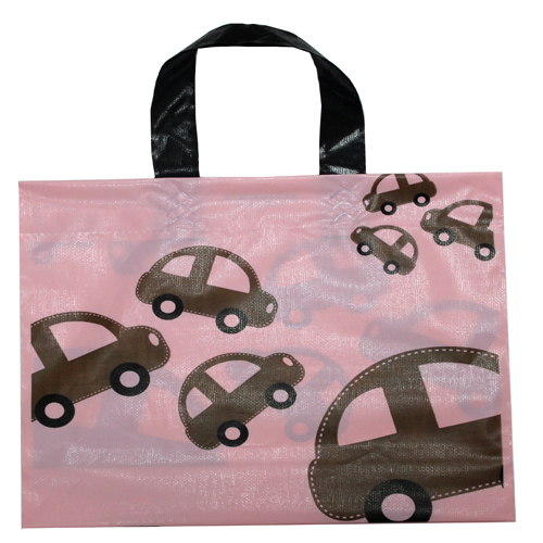 cartoon cars shopping bag