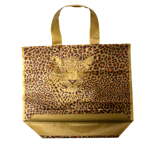leopard carrier bag