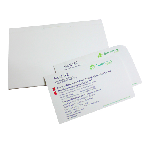 synthetic paper business card