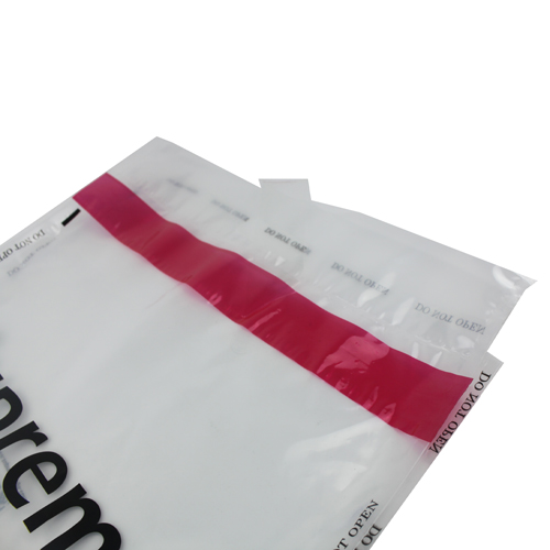 high security tape plasitc bag